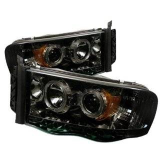 Ram Crystal Black Headlight Assembly   (Sold in Pairs) Automotive