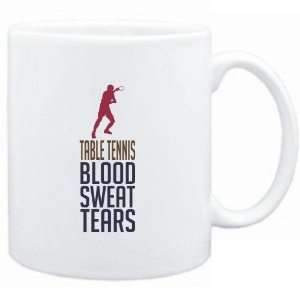 Mug White  Table Tennis  BLOOD , SWEAT & TEARS  Sports