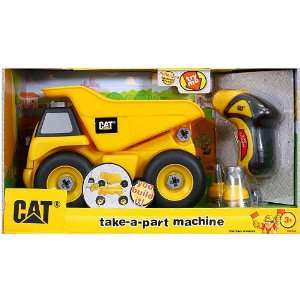 Small World Express CAT Take Apart Dump Truck Toys & Games