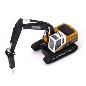 Action Toy w/Light and Sound Hydraulic Excavator Model: Toys & Games