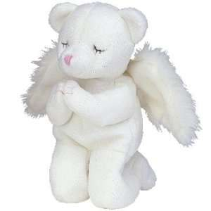 TY Beanie Baby   BLESSED the Angel Bear Toys & Games