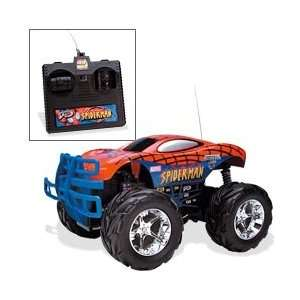 Tyco R/C 6 Volt Spider Man Monster Jam Vehicle Toys & Games