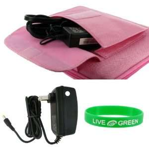 Cube Carrying Case with Wall Charger   Cube Pocket Pink: Electronics