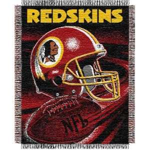 Washington Redskins NFL Woven Jacquard Throw Sports