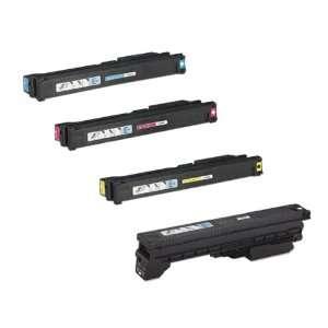 HP Color LaserJet 9500hdn Toner Cartridge Set (OEM) Black, Cyan
