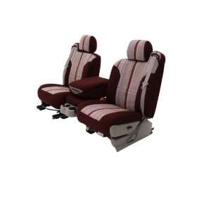 Fit Front Bucket Seat Covers   Saddleblanket Fabric, Wine Automotive