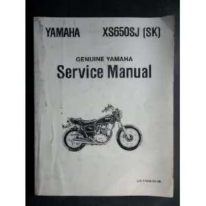 (SK) Yamaha Factory Service Shop Repair Manual Yamaha Motors Books