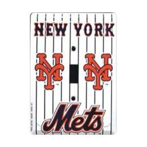 New York Mets Single Light Switch Plate Cover Sports