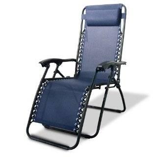 Caravan Canopy Zero Gravity Reclining Chair with Adjustable Headrest