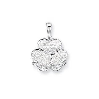 Best Friends. 3 piece Gold Tone Charm 20 Steel Necklace
