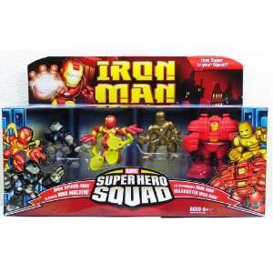 Iron Man Movie Toy Super Hero Squad Battle Pack Genius of Tony Stark