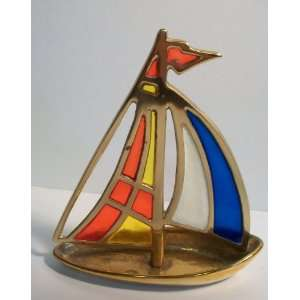 Sail Boat Stain Glass