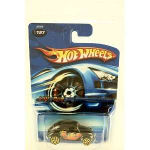 Hot Wheels   2006   #197   VW Bug   Black w/ Wild Paint Job