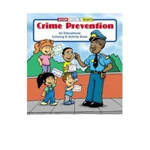 0180    CRIME PREVENTION COLORING AND ACTIVITY BOOK Toys