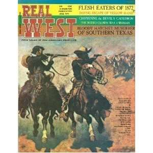 Real West Magazine Jan 1971 Yellow Hand Texas Cheyenne