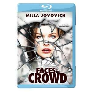 Faces in the Crowd (Blu Ray) Milla Jovovich, Julian