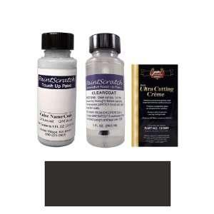 Oz. Black Silver Metallic Paint Bottle Kit for 2000 Fleet Basecoat