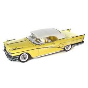 1958 Buick Limited Closed Convertible 1/18 Mojave Yellow Toys & Games
