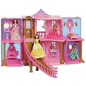 Disney Princess Enchanted Castle Palace Dollhouse Play Set  Toys