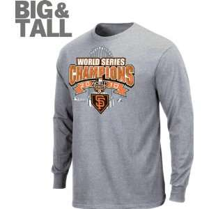 San Francisco Giants Big & Tall 2010 World Series Champions Official