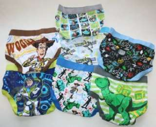 Pixar Toy Story Toddler Boys Briefs 7 Pack   7 Designs Clothing