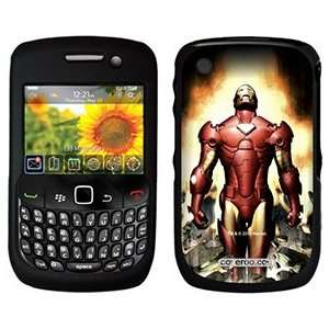 Iron Man Breaking on PureGear Case for BlackBerry Curve