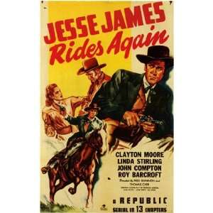 Jesse James Rides Again by Unknown 11x17