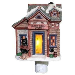 Black Bear Lodge Flickering Night Light Case Pack 6