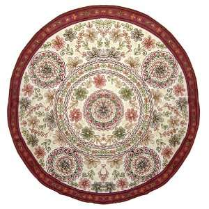 Round Wall Hanging Tapestry For Big Wall Full Embroidered