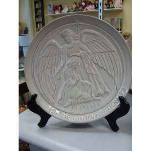 FRANKOMA 1973 COLLECTOR PLATE THE ANNUNCIATION