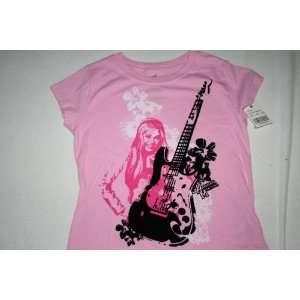 Hannah Montana Lavender Purple Rock Undercover Pop Star T