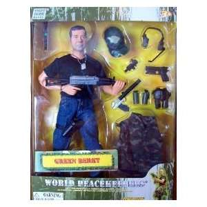 World Peacekeepers Power Team Elite 12 Green Beret: Toys & Games