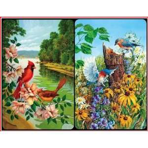 Feathered Friends   Double Deck Bridge Playing Cards Toys & Games