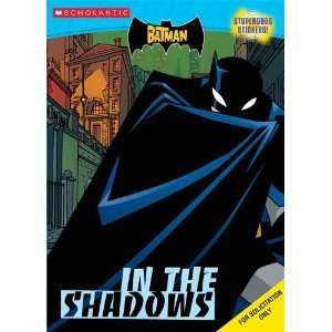 Batman, The In The Shadows (c&a With Stickers) Coloring activity book