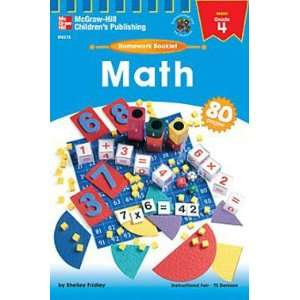HOMEWORK BOOKLET MATH GR 4  Toys & Games