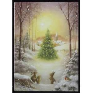Christmas Tree Magic Holiday Christmas Cards, 18 Cards