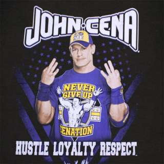 John Cena Hustle Loyalty Respect Wallpaper John Cena Quote Hustle