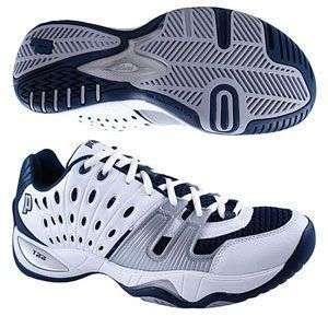 Prince T22 Junior Tennis Shoes (White/Navy/Silver) Racquet Depot
