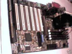 Pentium Motherboard Slot1 ASUS P3B F Rev 1.03. P3 500