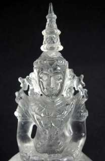 gem quartz crystal quan yin has been made by mother earth nothing has