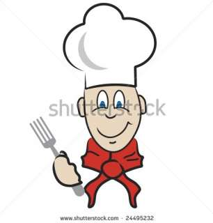 Cartoon Chef Stock Photo 24495232  Shutterstock
