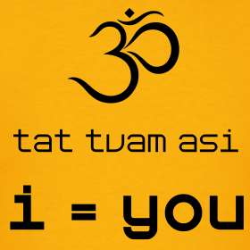 Tat Tvam Asi  Aum  I = You (Sanskrit mantra)  360 Degrees of