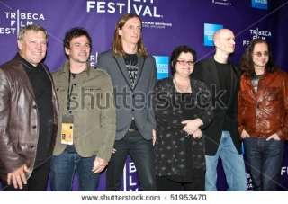 New York   April 24 Alex Lifeson,Scott Mcfadyen,Sam Dunn,Pegi Cecconi