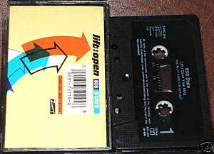 808 STATE LIFT:OPEN YOUR MIND CASSETTE SINGLE