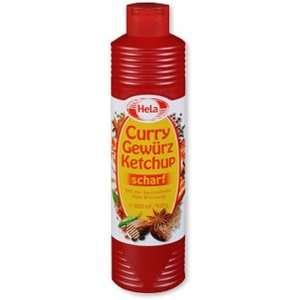 Hela Curry Gewurz Hot Ketchup ( 400 ml ):  Grocery