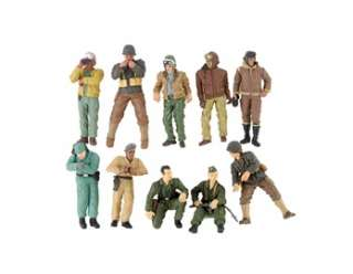 Animation » Animation Models » 10 Mini Army Men Soldiers Toy Set
