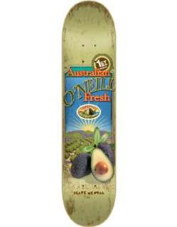 Skate Mental Oneill Avocado Deck  7.87