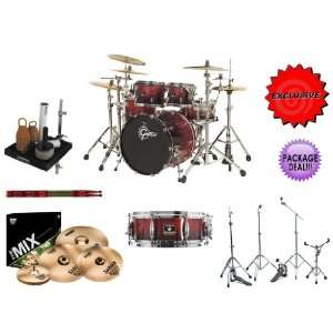 Gretsch 5 PIECE o Renown Maple RN E824 RSF Drum Kit