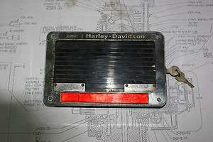 AMF Harley Davidson shovelhead, murcury controled alarm system.