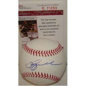Jeff Bagwell SIGNED MLB Baseball JSA ASTROS Sports